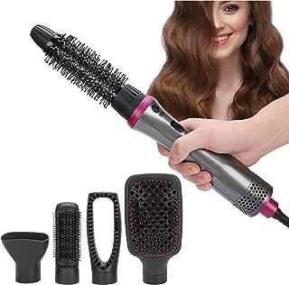 Peine secador de pelo, 5 en 1, cepillo y volumen de iones negativos, rulos para todo tipo de cabello