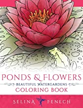 Ponds and Flowers - Beautiful Watergardens Coloring Book