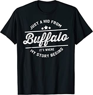 just a kid from buffalo shirt