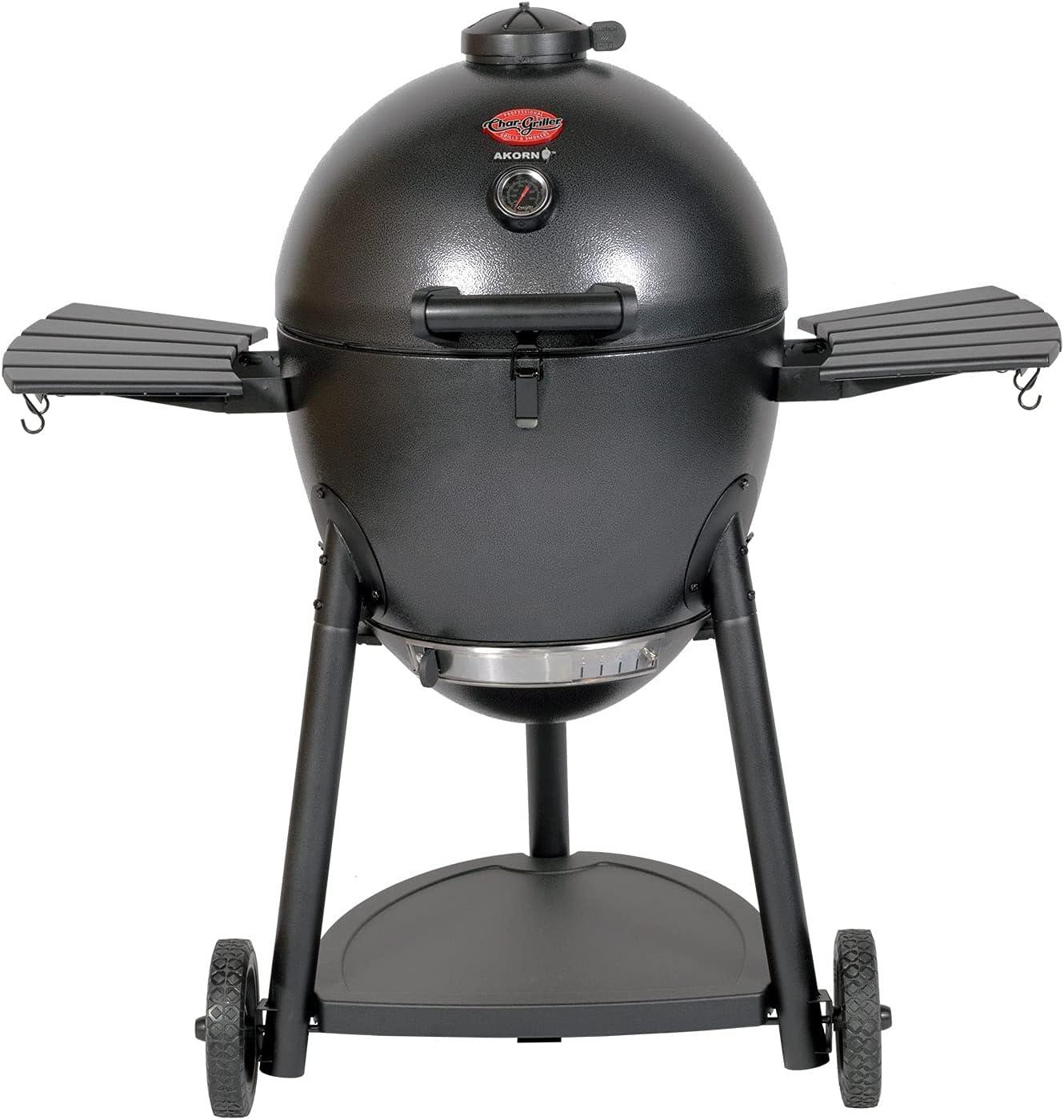 Char-Griller-E16620-Akorn-Kamado-Charcoal-Grill,-Graphite