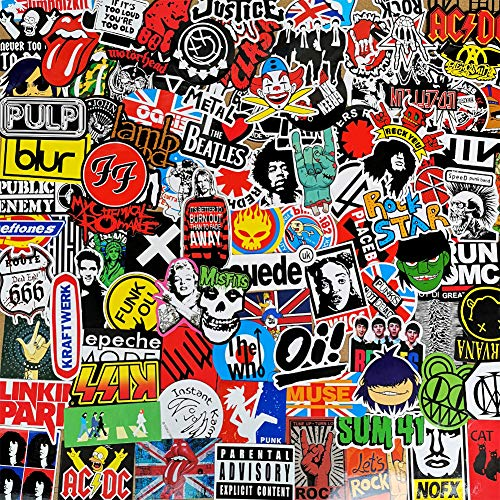 Skateboard Aufkleber Graffiti Reiseaufkleber fur Laptop Koffer Gepack Fahrrad Auto Dekoration