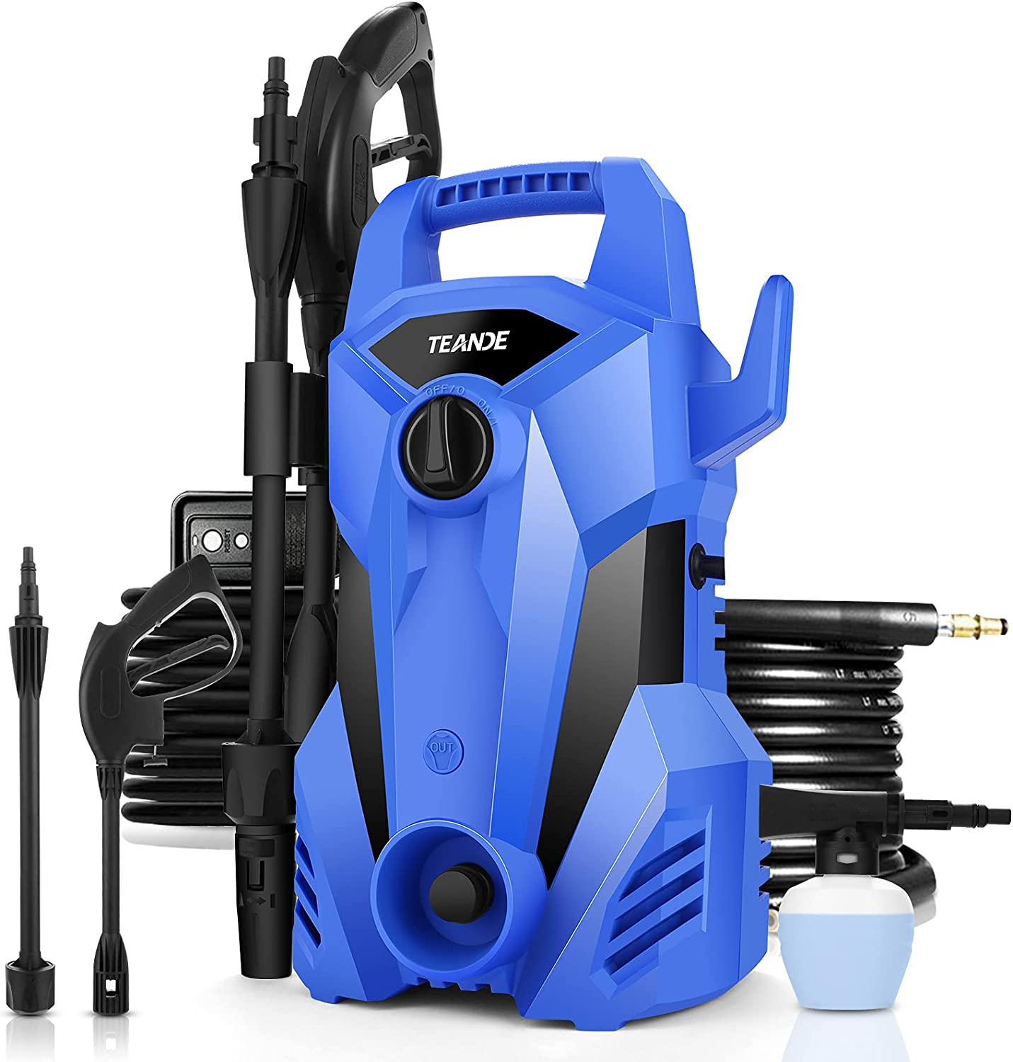 TEANDE 2300PSI Pressure Washer Electric 40% OFF Cheap Sale 2.2GPM Direct store 1