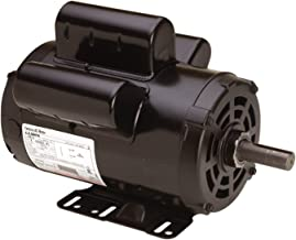 A.O. Smith AC motors B813 5 HP, 3450 RPM, 230 Volts, 22 Amps, 56HZ Frame, 1 Service Factor, CWLE Rotation, 7/8-Inch by 2.31-Inch Flat Shaft Compressor Motor