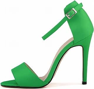 Robert Westbrook Womens Sandals Open Toe Ankle Straps High Heels Summer Pumps Femininos Sandalias 102-2Ma