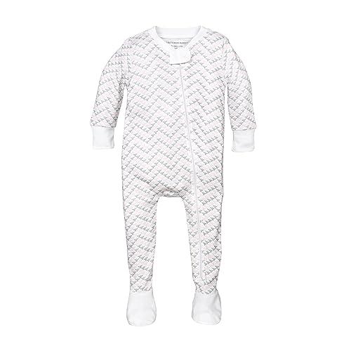 Burt s Bees Baby - Baby Girls  Sleeper Pajamas cbc30b54c