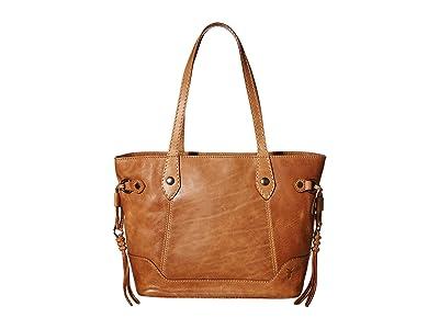 Frye Melissa Carryall (Beige) Handbags