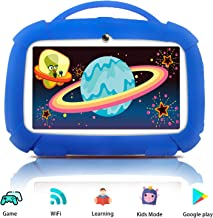 $52 » Kids Tablets, Android Tablet for Kids, 16GB ROM, IPS Eye Protection Display, Kids Tablet with WiFi Dual Camera Parental Control Kid-Proof Case and Learning Games, Best Gift for Boys Girls