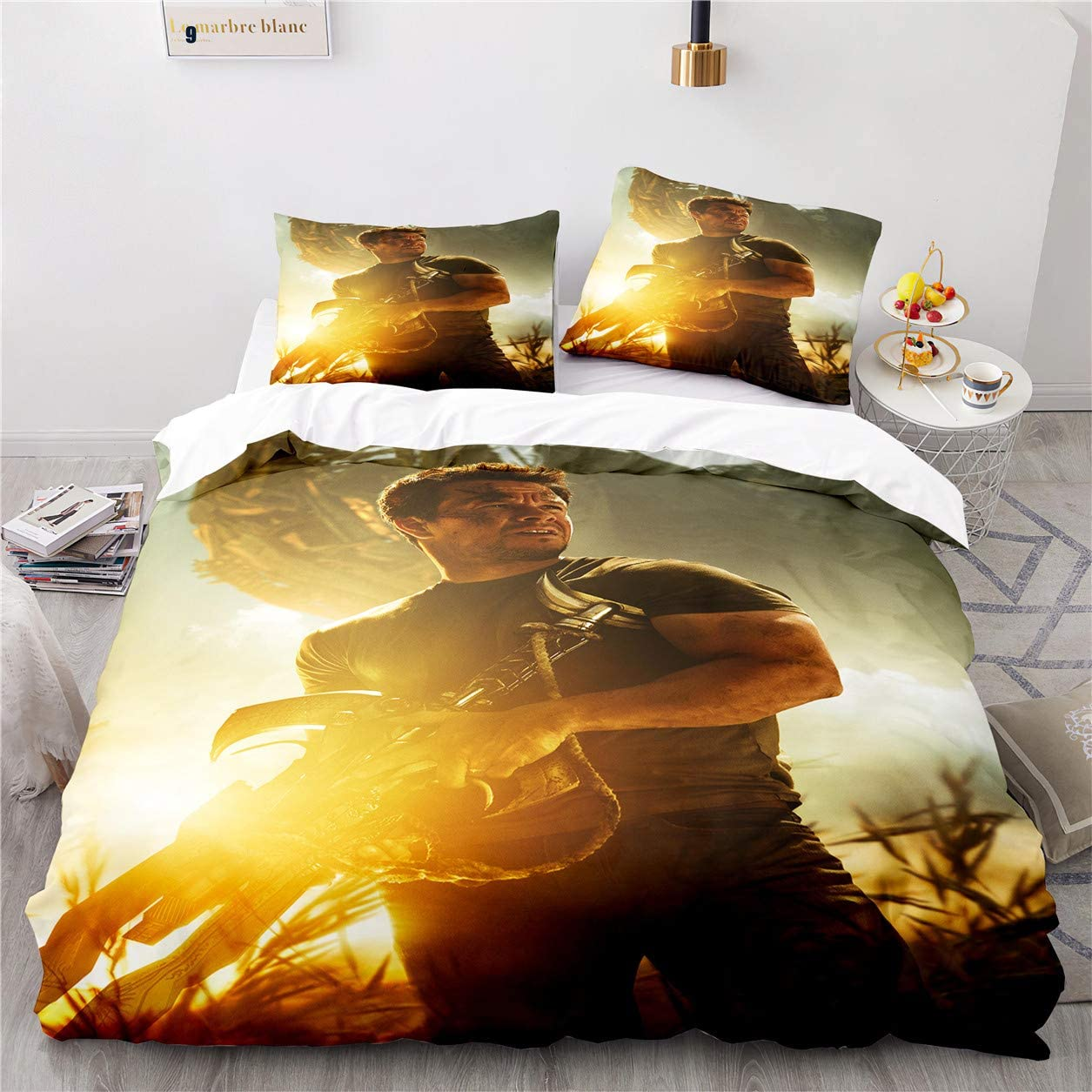 SOEWBBER 3D Reservation Transformers Bumblebee Printing Queen Si Set El Paso Mall Bedding