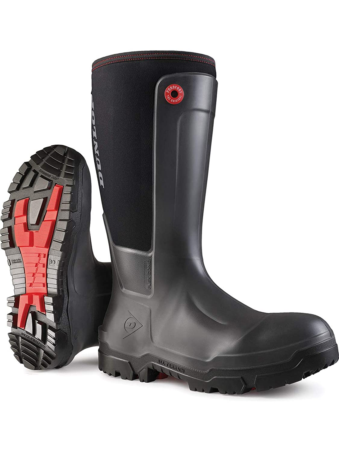 Dunlop NE68A9313 Snugboot WorkPro Full Co Safety Protective Trust with Max 84% OFF