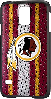 Team Pro Mark Licensed NFL Washington Redskins Slim Series Protector Case for Samsung Galaxy S5 - Retail Packaging - Red/Yellow/White