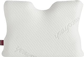 Belnou 17269 - Almohada Ergonómica para Cuello Ergofresh con Funda, 70x35 cm, Blanco