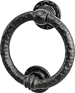 Best Mythrojan Large Cast Iron Ring Front Door Knocker Artisan Made Antique Knocker Review