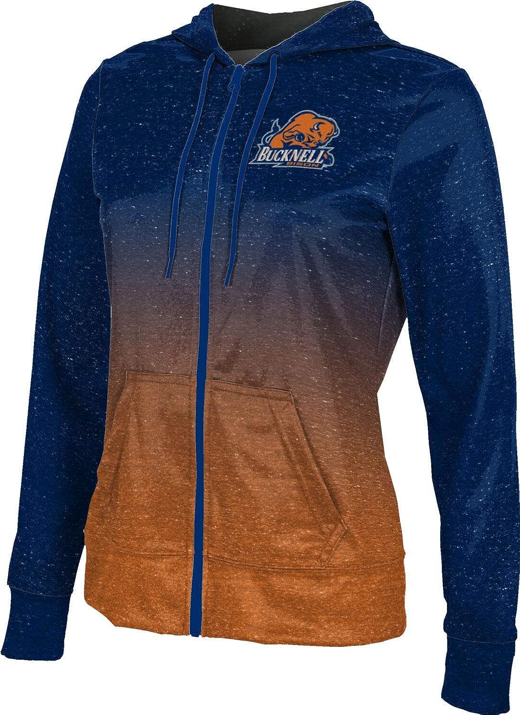 ProSphere Bucknell University Girls' Zipper Hoodie, School Spirit Sweatshirt (Ombre)