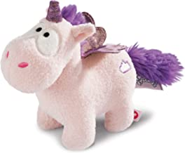 NICI 42333Theodor and Friends Soft Toy, White/Purple