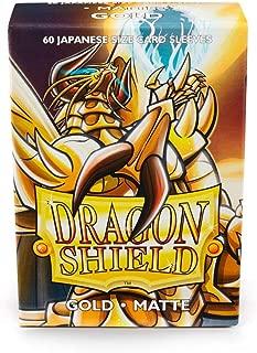 Sleeves: Dragon Shield Matte Japanese Gold (60)