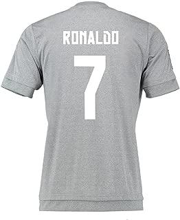 Ronaldo #7 Real Madrid Away Soccer Jersey 2015 Youth.