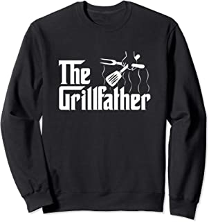 The Grillfather BBQ Grill & Smoker | Barbecue Chef Gift Idea Sweatshirt