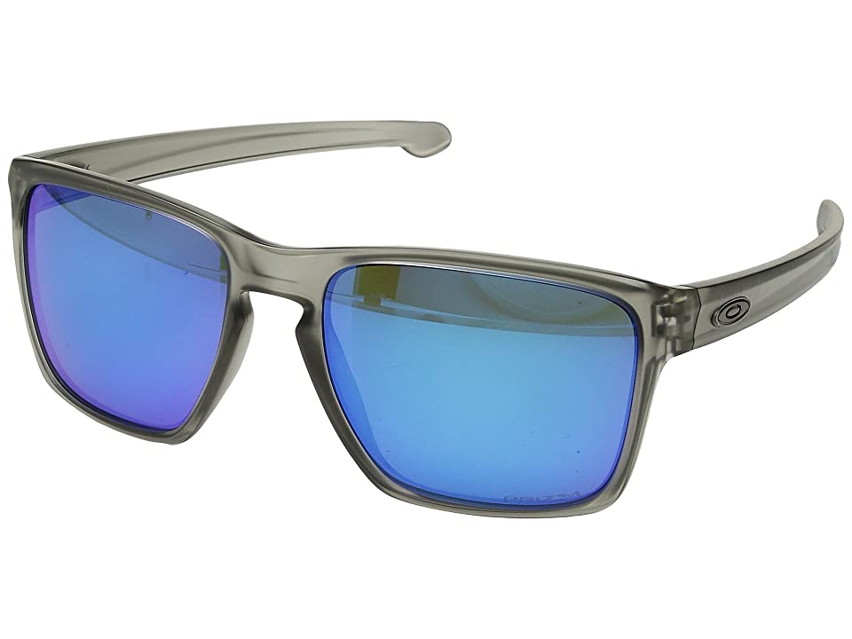 Oakley Sliver XL (Matte Grey Ink w/ Prizm Sapphire Polar) Fashion Sunglasses