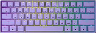 GK61 Mechanical Gaming Keyboard - 61 Keys Multi Color RGB Il