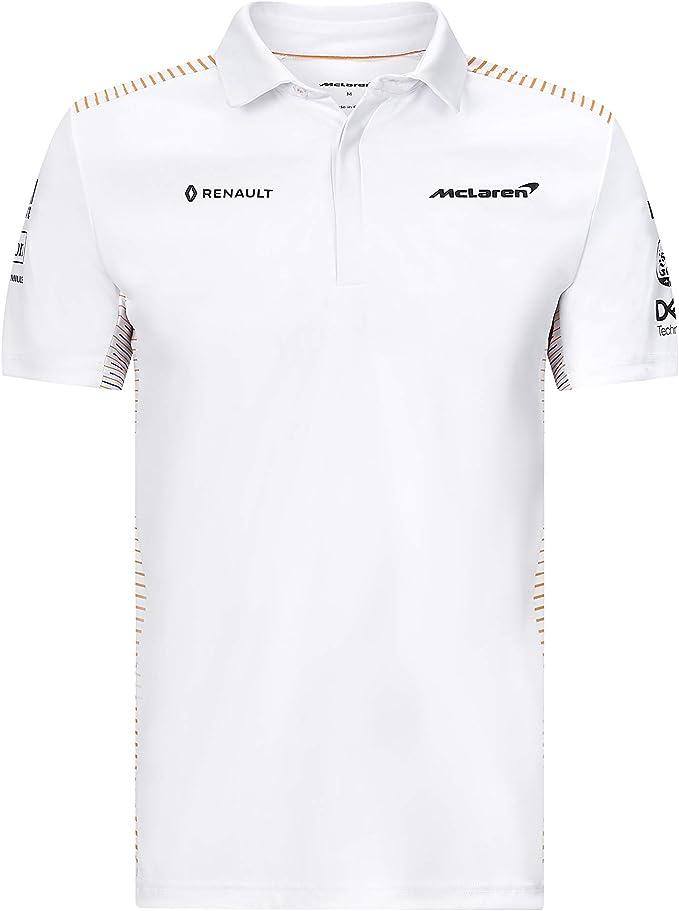 McLaren Fuel For Fans Formula 1 Racing 2020 Team Polo, Blanco ...