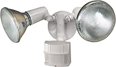 Heath Zenith HZ-5411-WH Heavy Duty Motion Sensor Security Light, White