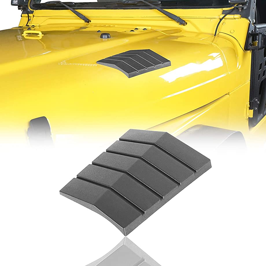 Cowl Body Armors Outer Cowling Front Hood Corner Guards for 1997-2006 Jeep Wrangler TJ & Unlimited(Pack of 2)