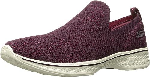 Skechers Perforhommece Wohommes Go 4-14918 Walking chaussures,Burgundy,9.5 M US
