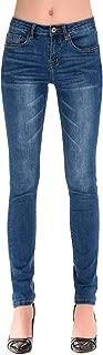 Women's Classic High Waisted Butt Lift 4-Ways Stretch Modern Skinny Jeans