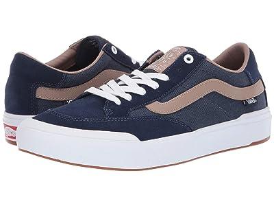 Vans Berle Pro ((Twill) Dress Blues/Portabella) Skate Shoes
