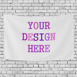 Personalized Customize Image Tapestry Wall Hanging for Living Room Bedroom Dorm Decor 60x40(in)