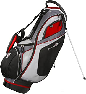 golf bag with individual dividers