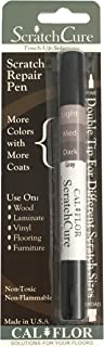 Cal-Flor PE49401CF ScratchCure 3 Shade Double Tipped Repair Pen for Use on Wood, Laminate, Flooring & Furniture, Gray
