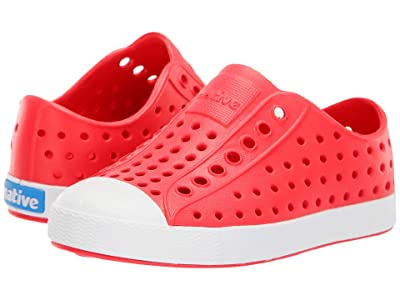 Native Kids Shoes Jefferson (Toddler/Little Kid) (Sakura Red/Shell White) Girls Shoes