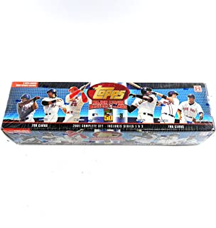 2001 Topps Baseball Hobby Factory Set Blue (790) ^ Topps Archives RC Reprints