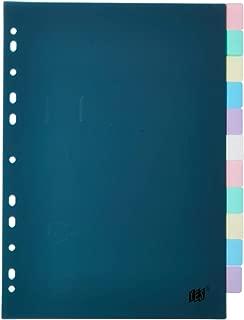 Divisória com 12 Divisões A4 Visor Transparente Sortido, Yes, 12INTBASOR, Sortido