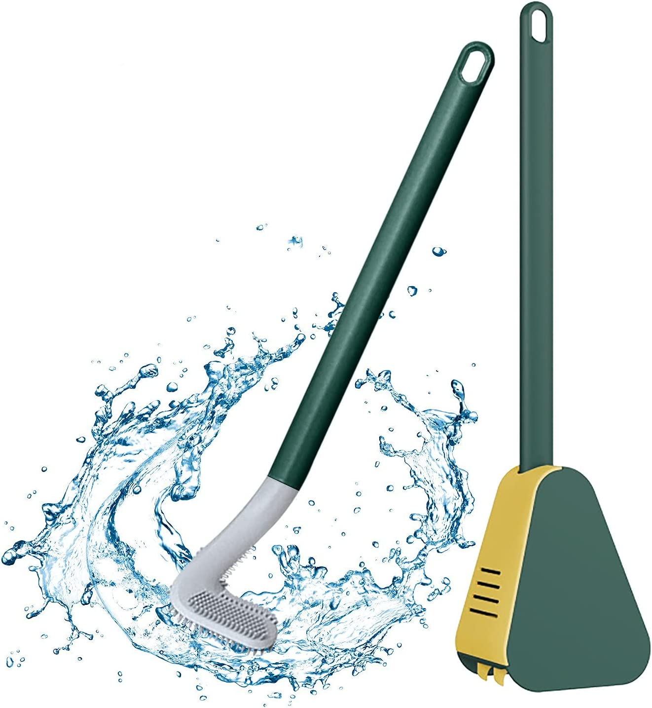 Long Handle Toilet Brush Golf Detroit Mall Holder Silicone New life T and