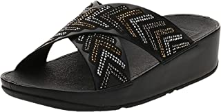 FitFlop Cora Crystal Slides womens Women Fashion Sandals