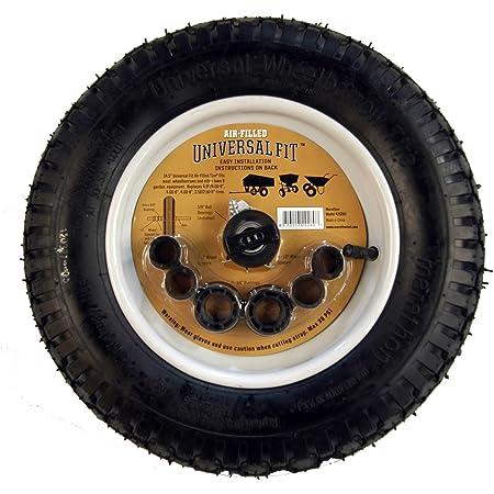 New Marathon 14.25 inch High Tire /& Wheel for Wheelbarrow Wagon Cart