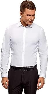 oodji Ultra Men's Basic Slim-Fit Shirt