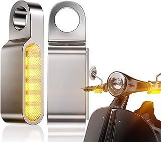 Casco Del Motociclo Riflettore Chiaro Sticker Lampada Del Segnale Di Guida Impermeabile Con Led Lampeggiante Green Light Film Per Moto Conveniente Accessori Ciclismo