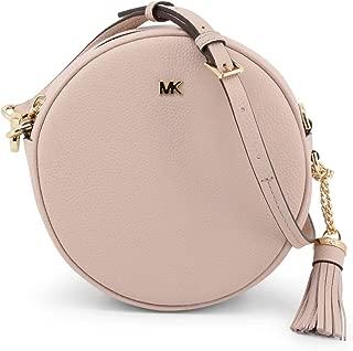 Michael Kors Mercer Medium Canteen Crossbody Bag- Soft Pink
