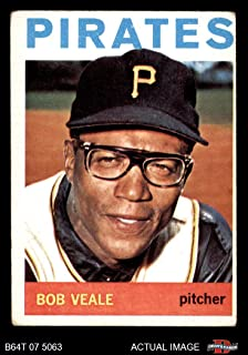 1964 Topps # 501 Bob Veale Pittsburgh Pirates (Baseball Card) Dean's Cards 2 - GOOD Pirates