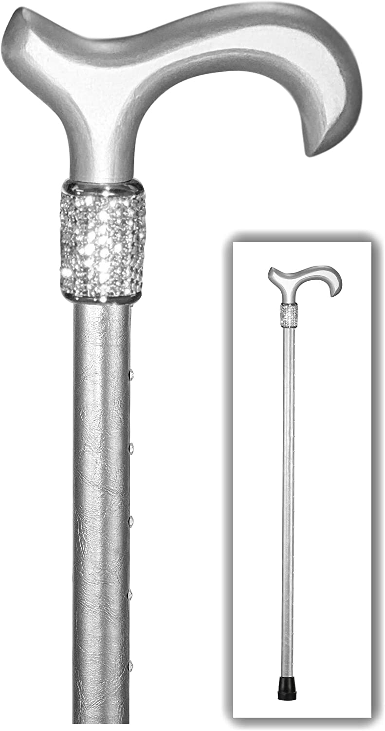 """Popularity OrthoGlam """"Silver Lining"""" Lightweight Crystal Cane F - Max 67% OFF Bedazzled"""