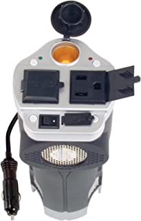 Rally 200-Watt Cup Holder Power Inverter with USB Port (7413)
