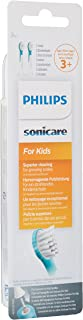 Philips Sonicare Philips Sonicare Kids Hx6032/33 Mini-Bürstenköpfe Für Schallzahnbürste Domyślnie ,Czarny I Biały