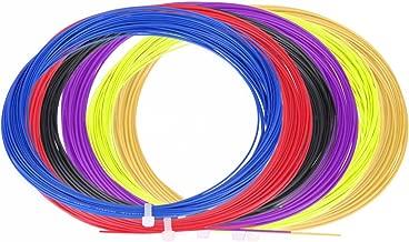 Ligne de Badminton Durable avec Une Bonne durabilit/é pour Les Raquettes de Badminton VGEBY 2 Cordes de Badminton