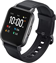 AUKEY Smart Watch, 1.4'' Full Touch 320p Color Screen Fitness Activity Tracker, IP68 Waterproof, Heart Rate Monitor, Pedometer Stopwatch, Message Notifications, Music Control