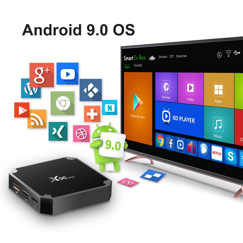 Android 7.1.2 TV Box, X96 Mini Android TV Box: Amazon.es: Electrónica