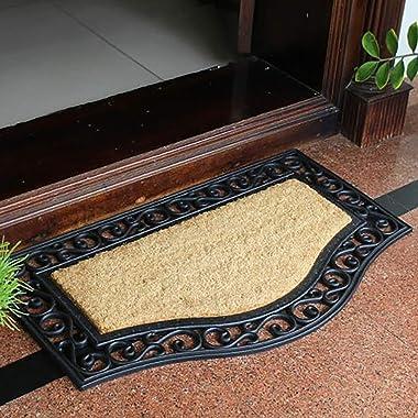 Doormat, with Underlay Outdoor Area Welcome Bathroom Footstrearm Indoor Area Matte Front Door Absorbent Non-Slip Machine Wash
