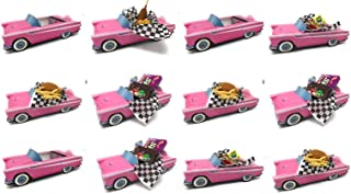Dunwoody Specialty Sales - Classic Car Sets 12 Classic Car Party Food Boxes - Pink Birthday Set